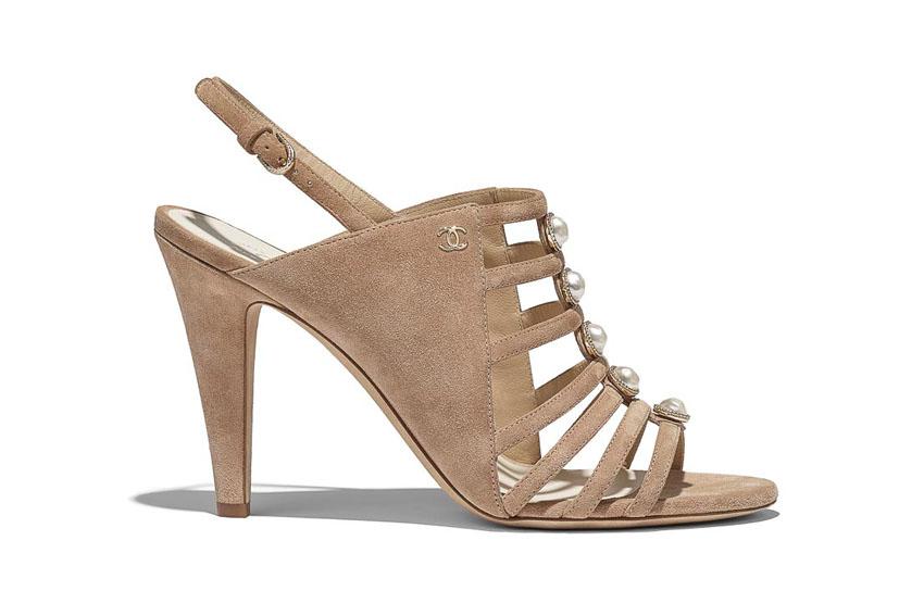 Giày cao gót sành điệu của Chanel