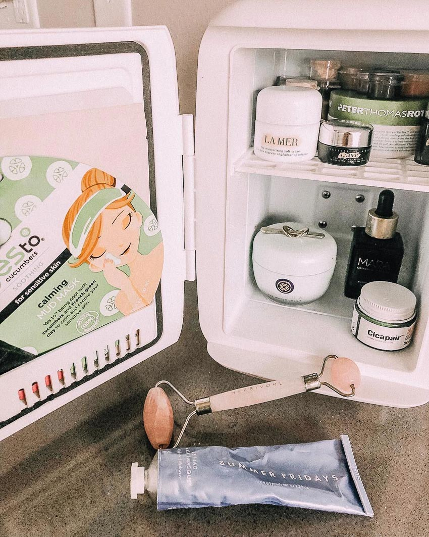 sản phẩm làm đẹp bảo quản trong tủ lạnh - 1