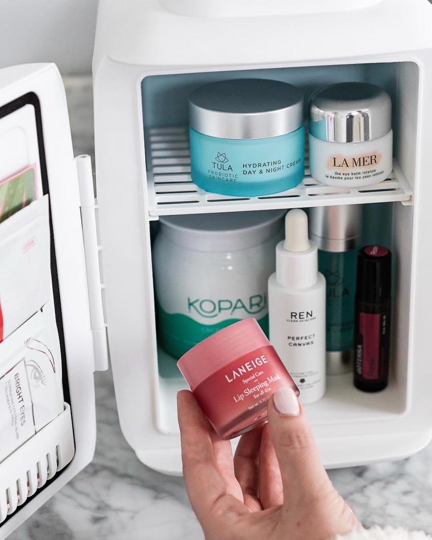 sản phẩm làm đẹp bảo quản trong tủ lạnh - 2