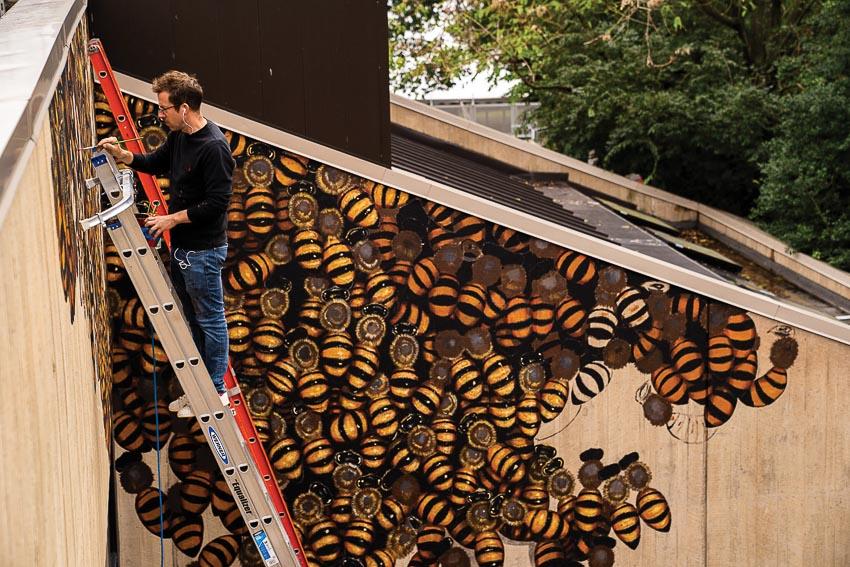 Người vẽ 50.000 con ong nghệ - 3