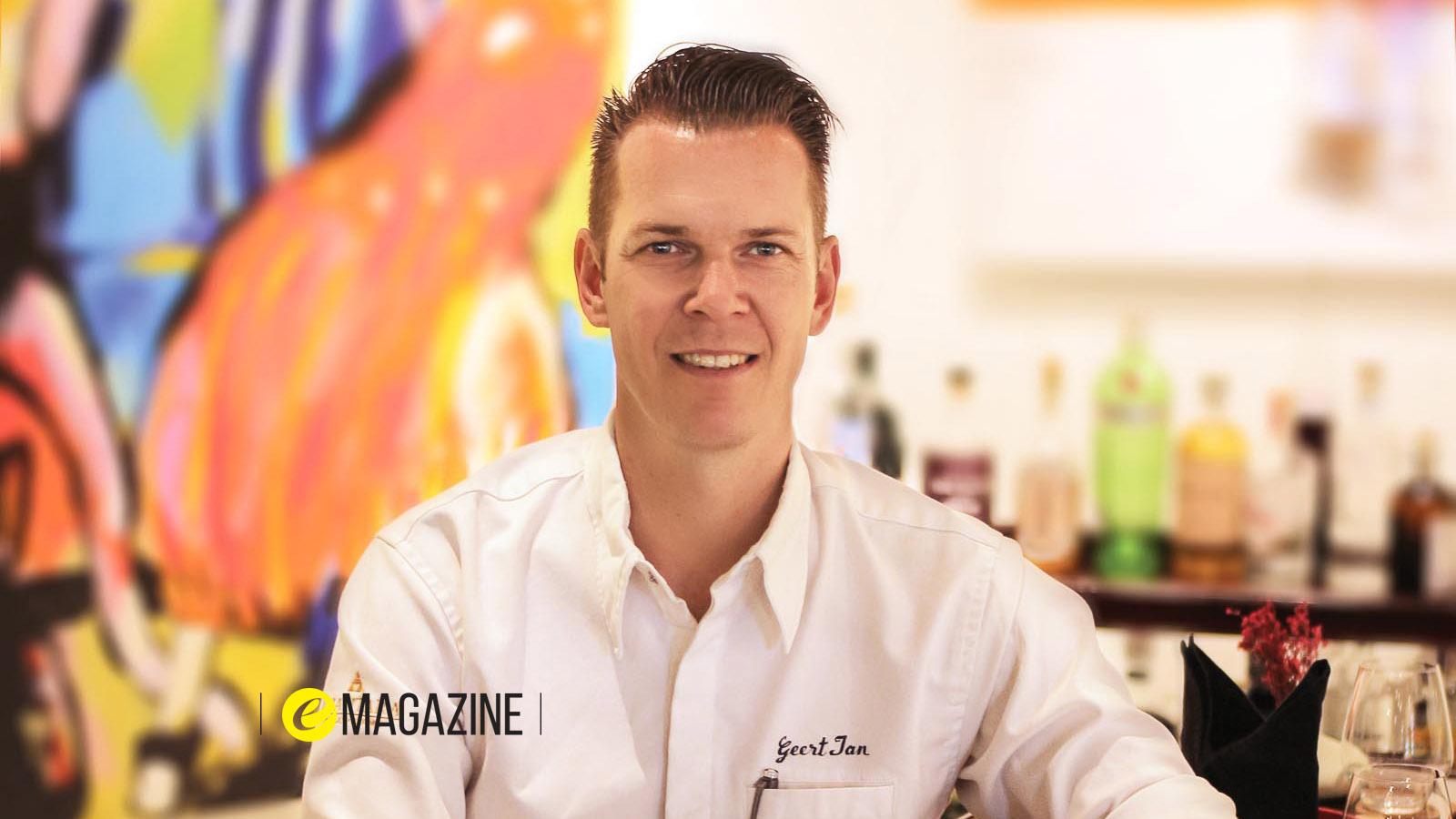 Bếp trưởng Geert-Jan Vaartjes của Anantara Hoi An Resort - EMagazine