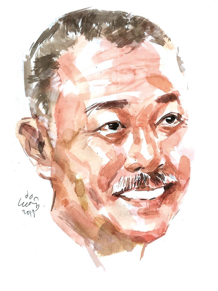 Giáo sư Trương Nguyện Thành - Phó hiệu trưởng Đại học Văn Lang - 1