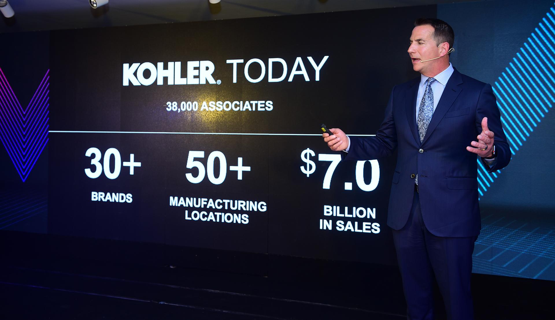 Ông David Kohler - Chủ tịch và CEO Công ty Kohler