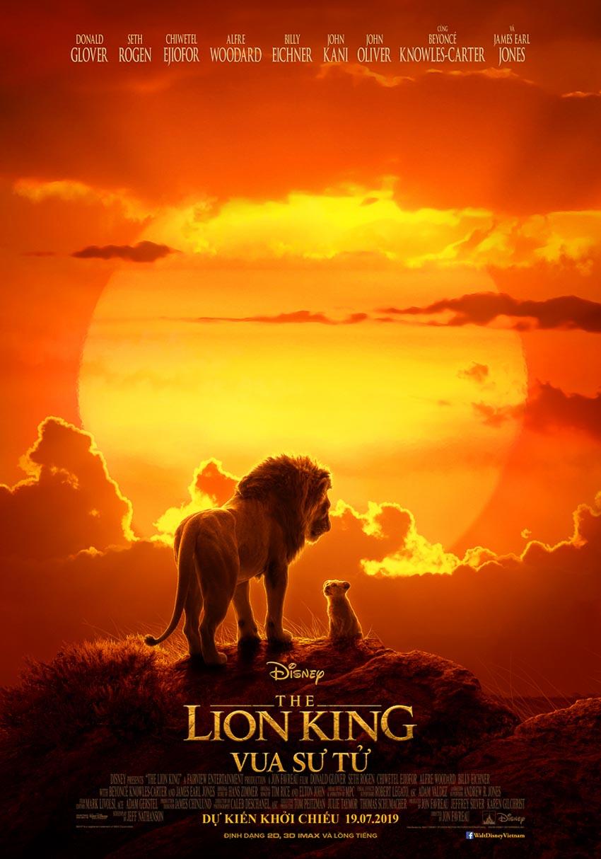 Bộ phim Lion King tung hình diễn viên lồng tiếng đối diện với nhân vật của mình - 2