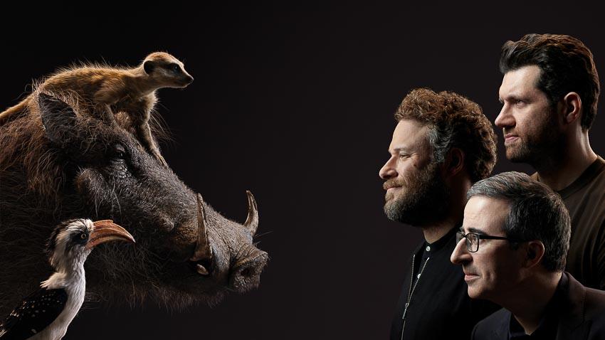 Bộ phim Lion King tung hình diễn viên lồng tiếng đối diện với nhân vật của mình - 3