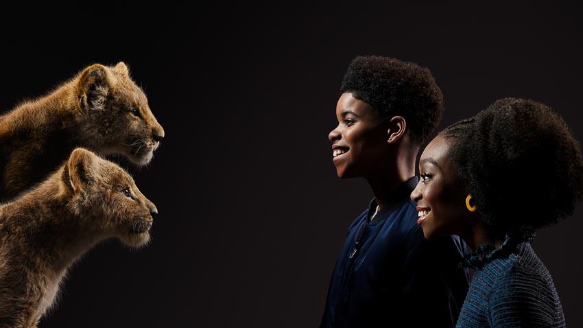Bộ phim Lion King tung hình diễn viên lồng tiếng đối diện với nhân vật của mình - 6