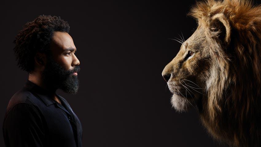 Bộ phim Lion King tung hình diễn viên lồng tiếng đối diện với nhân vật của mình - 7