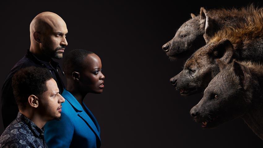 Bộ phim Lion King tung hình diễn viên lồng tiếng đối diện với nhân vật của mình - 9