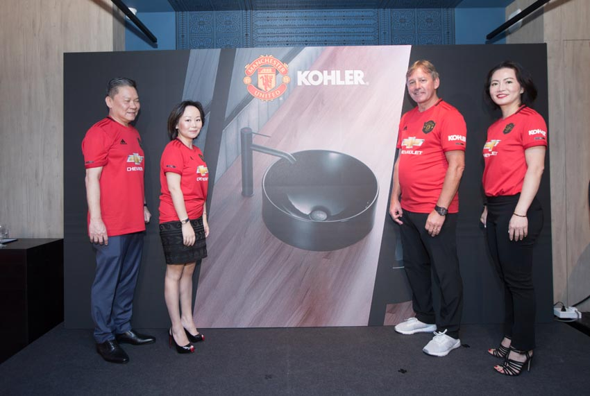 Kohler United ra mắt Bộ sưu tập phòng tắm Manchester United 2019 - 3