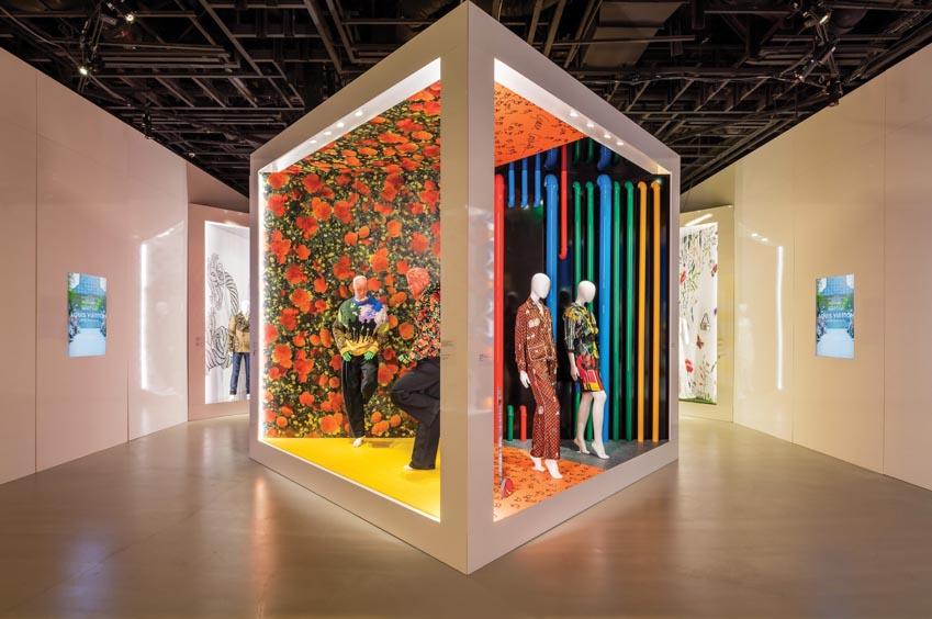 Buổi triển lãm ấn tượng của Louis Vuitton X - 3