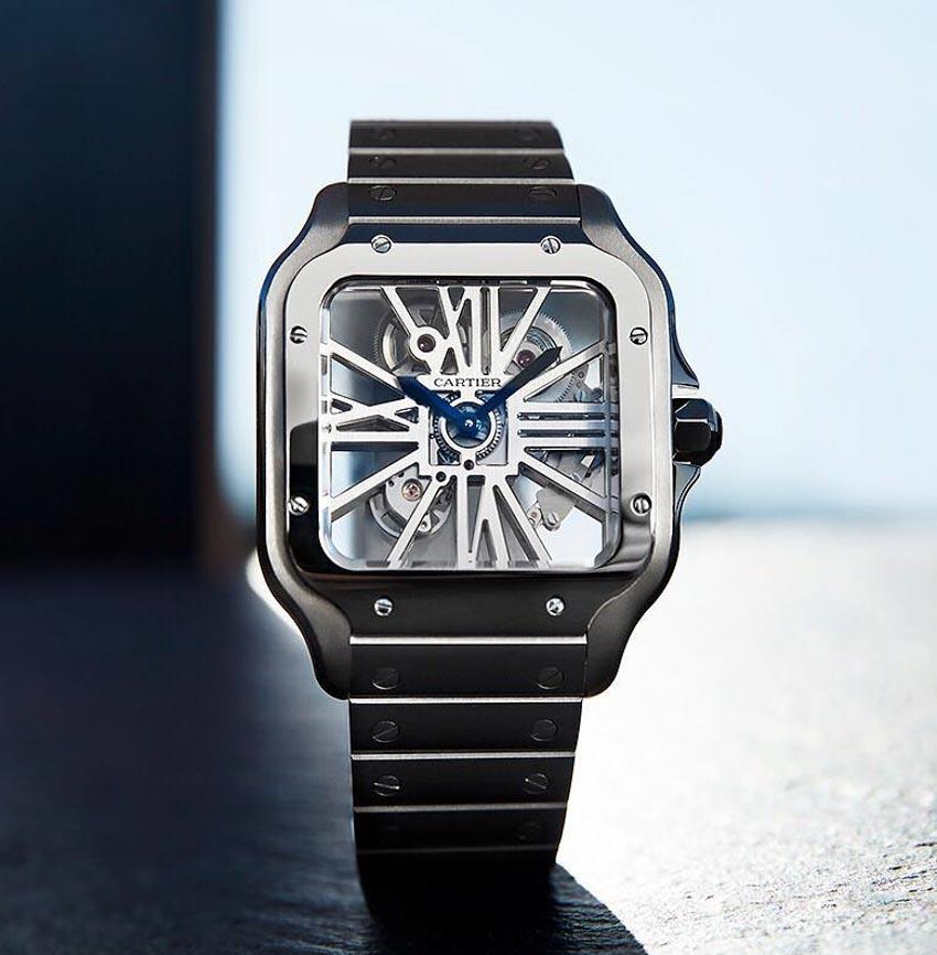 Phiên bản mới của đồng hồ Santos de Cartier - 1