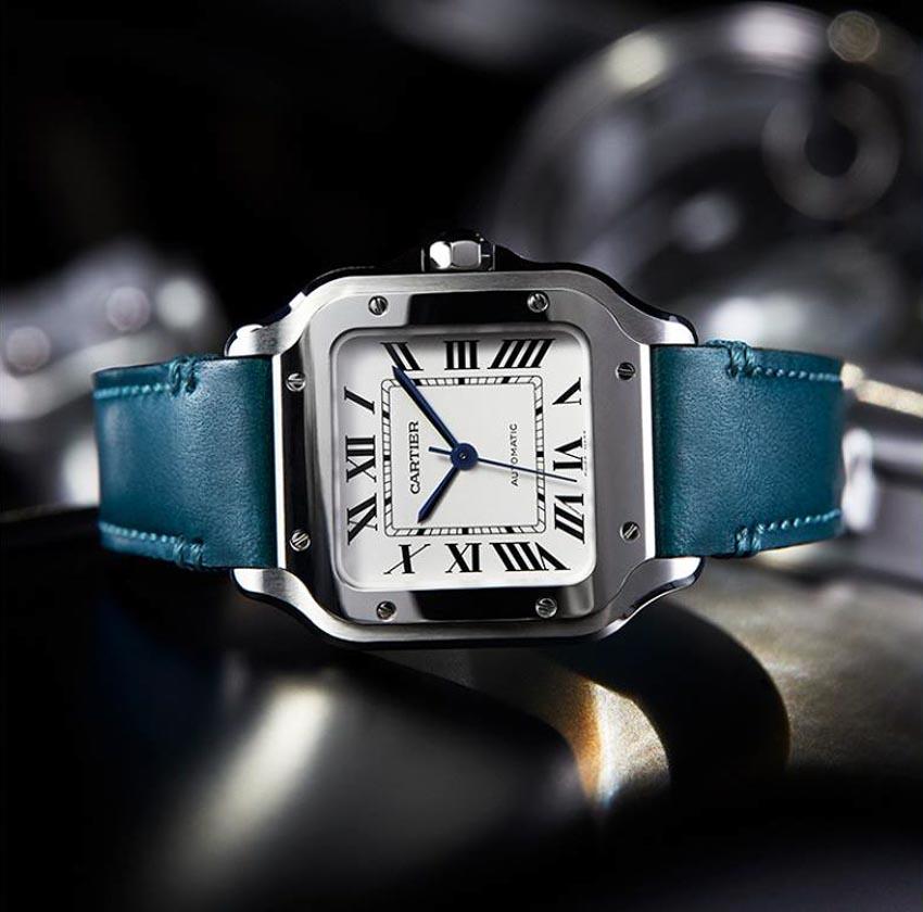 Phiên bản mới của đồng hồ Santos de Cartier - 2