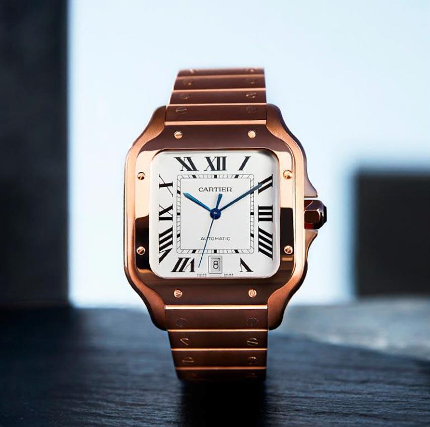 Phiên bản mới của đồng hồ Santos de Cartier - 3