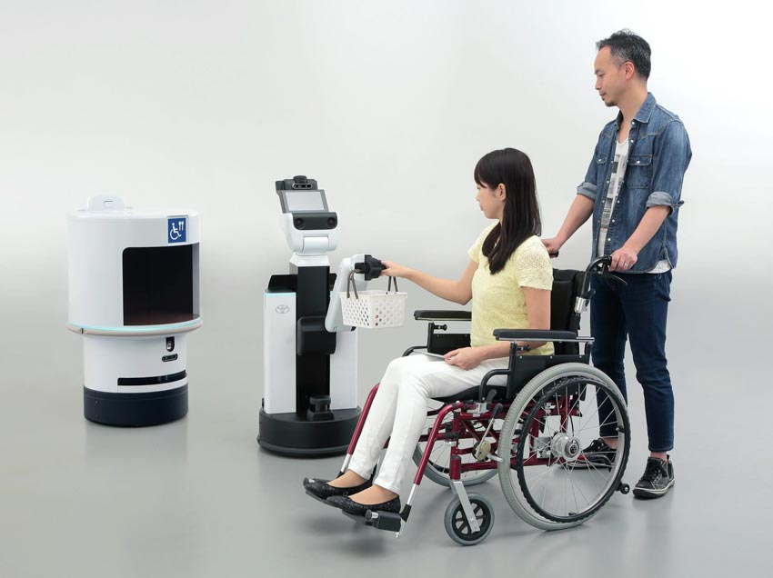 Dự án Robot Tokyo 2020 - Thế vận hội Olympic và Paralympic Tokyo 2020 - 5