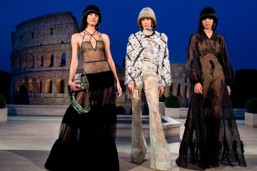 Fendi Haute Couture Thu-Đông 2019 Thập niên 70 hoàng kim - 1