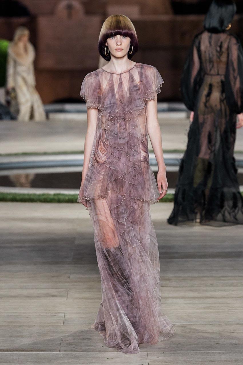 Fendi Haute Couture Thu-Đông 2019 Thập niên 70 hoàng kim - 10