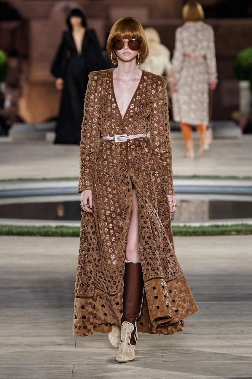 Fendi Haute Couture Thu-Đông 2019 Thập niên 70 hoàng kim - 11