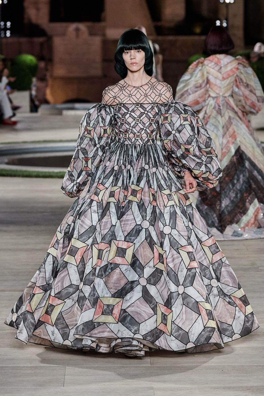 Fendi Haute Couture Thu-Đông 2019 Thập niên 70 hoàng kim - 14