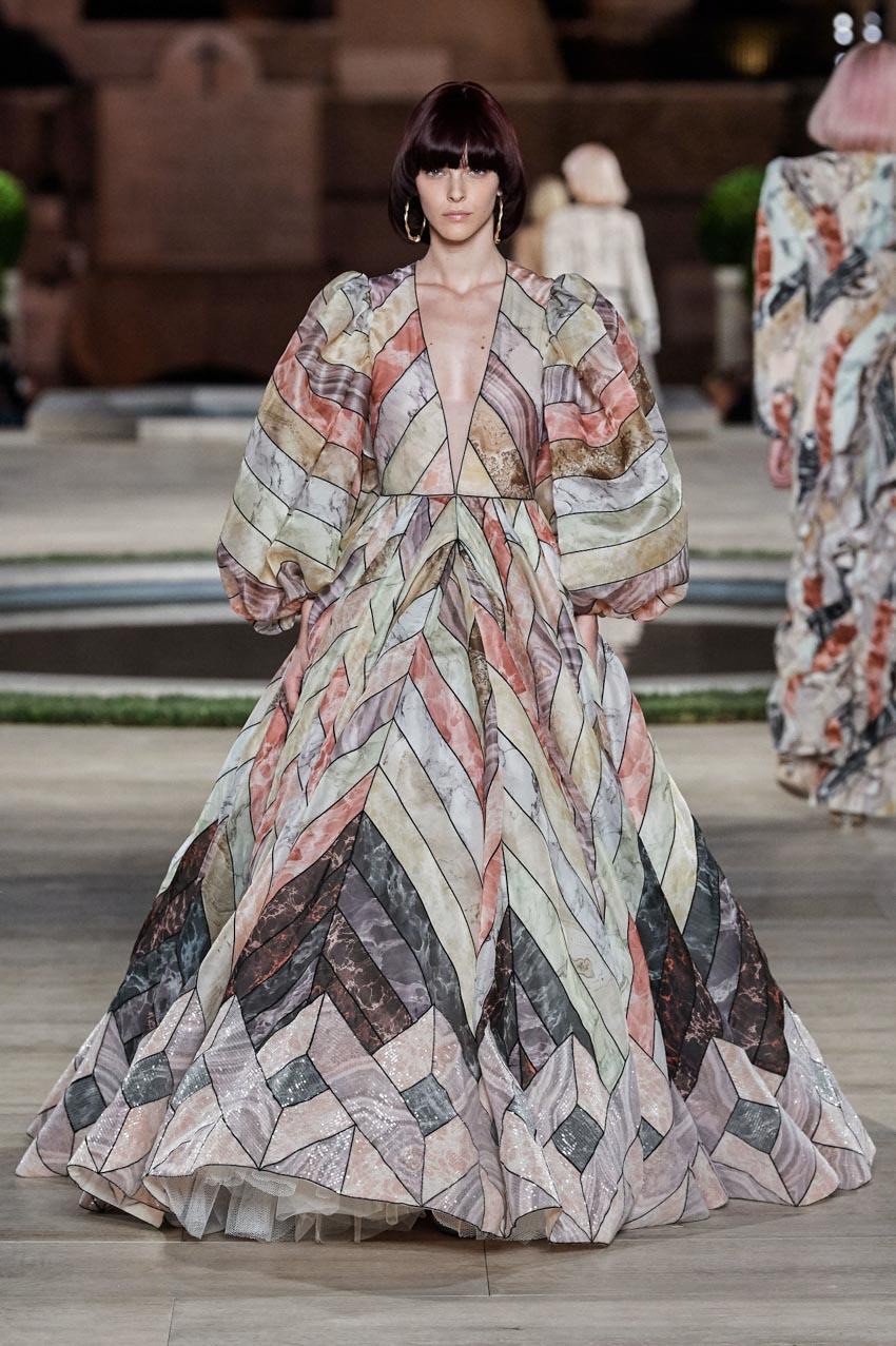 Fendi Haute Couture Thu-Đông 2019 Thập niên 70 hoàng kim - 15