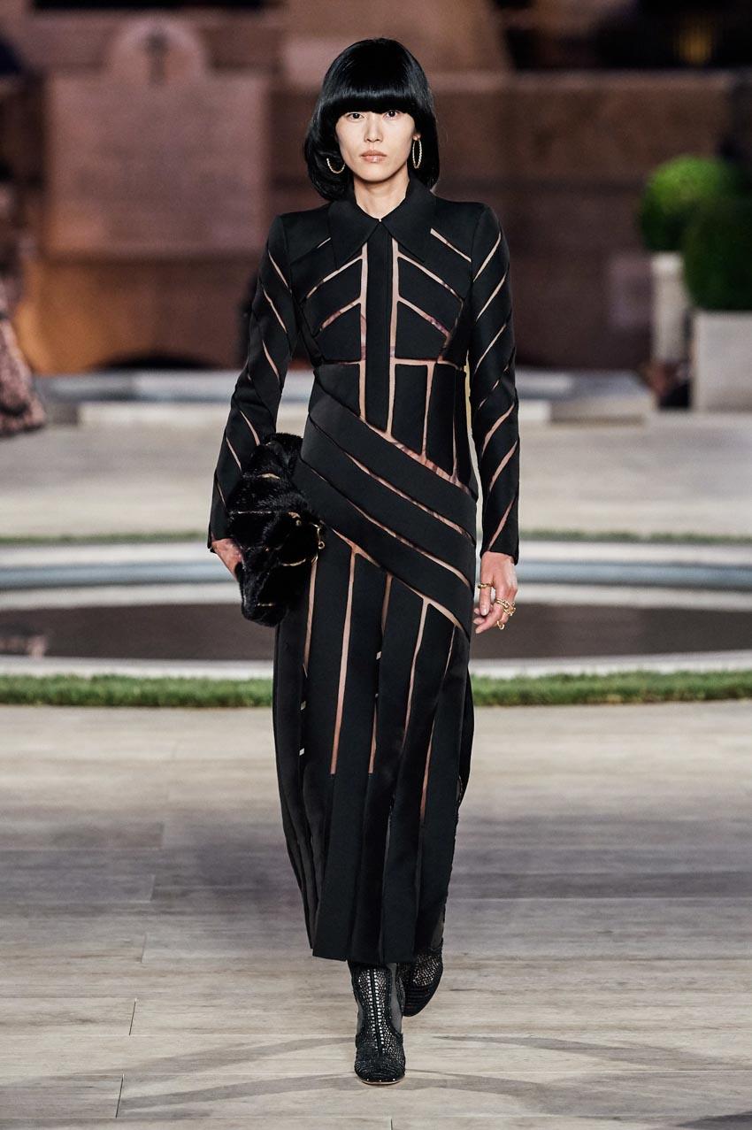 Fendi Haute Couture Thu-Đông 2019 Thập niên 70 hoàng kim - 6