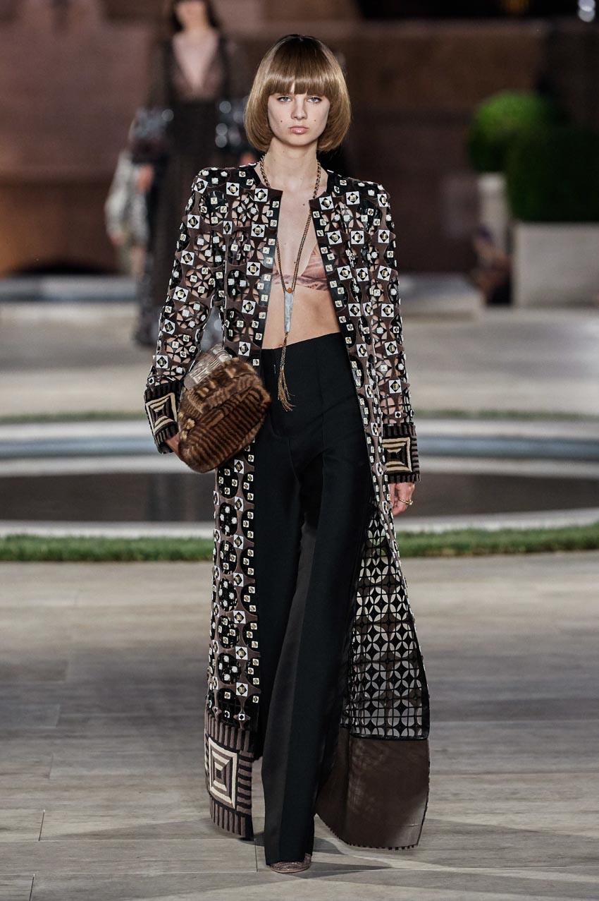 Fendi Haute Couture Thu-Đông 2019 Thập niên 70 hoàng kim - 8