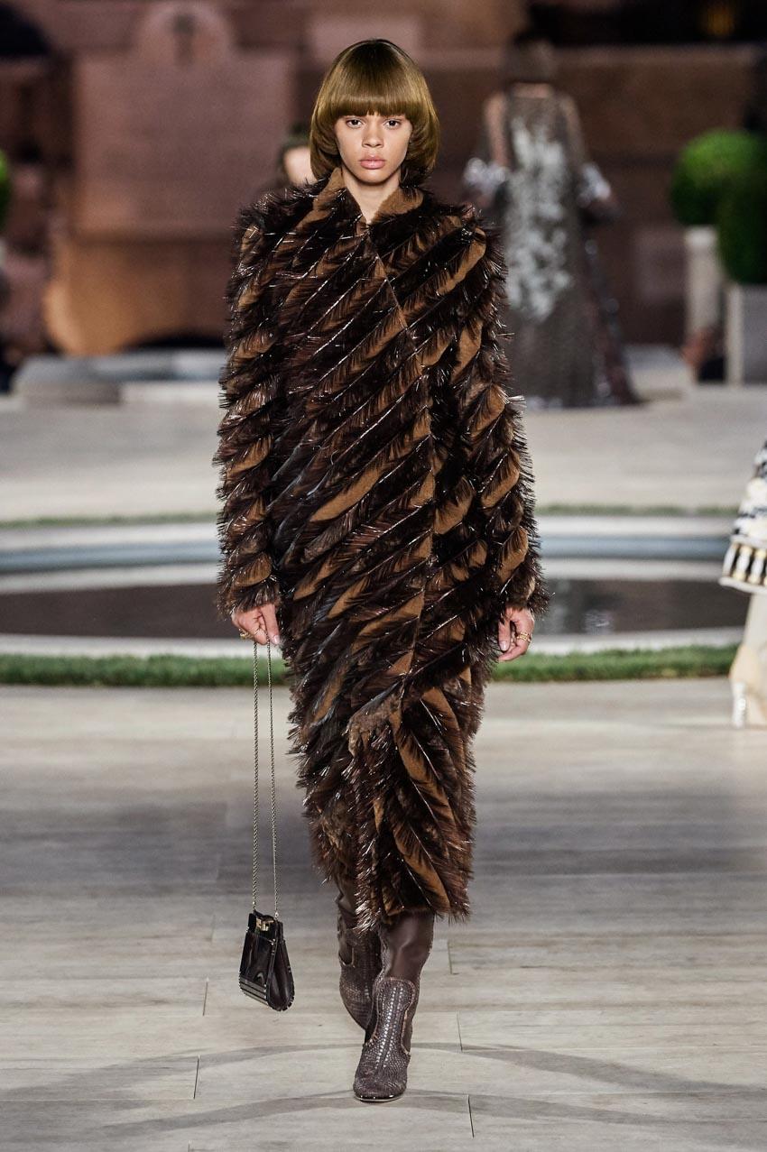 Fendi Haute Couture Thu-Đông 2019 Thập niên 70 hoàng kim - 9
