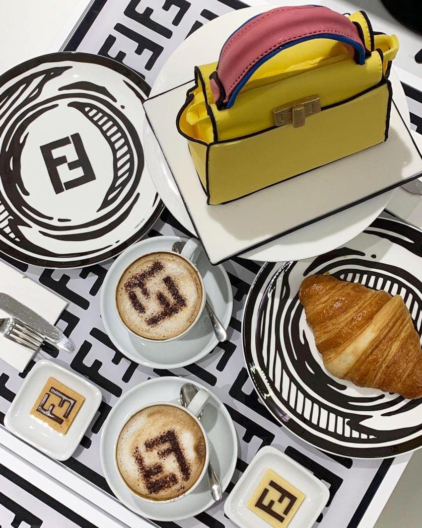 Fendi khai trương tiệm cafe đặc biệt tại Harrods, Luân Đôn - 2