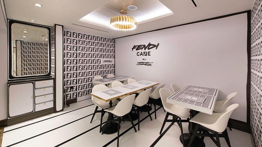 Fendi khai trương tiệm cafe đặc biệt tại Harrods, Luân Đôn - 7