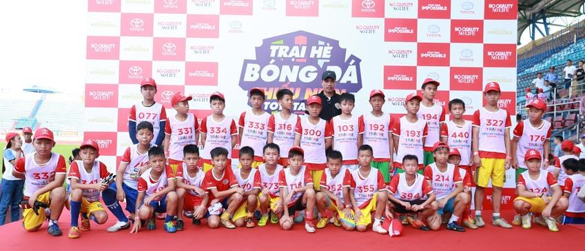 Khai mạc khóa tập huấn Trại hè Bóng đá thiếu niên Toyota 2019 - 2
