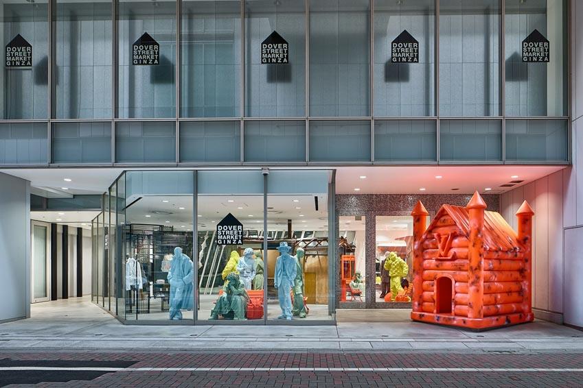 Louis Vuitton khai trương cửa hàng pop-up tại Dover Street Market Ginza - 5