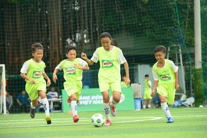 Biệt đội vô địch nhí Việt Nam tham gia cúp Milo vô địch thế giới - 1