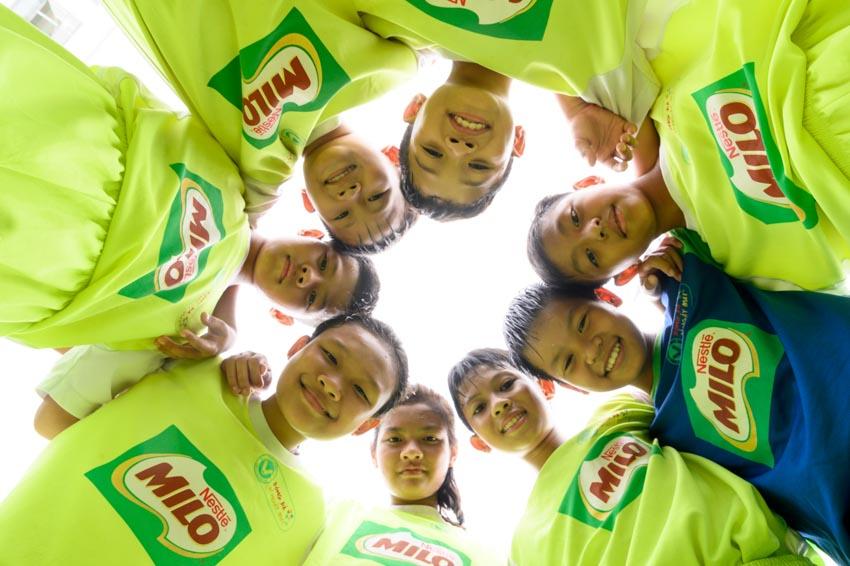 Biệt đội vô địch nhí Việt Nam tham gia cúp Milo vô địch thế giới - 2