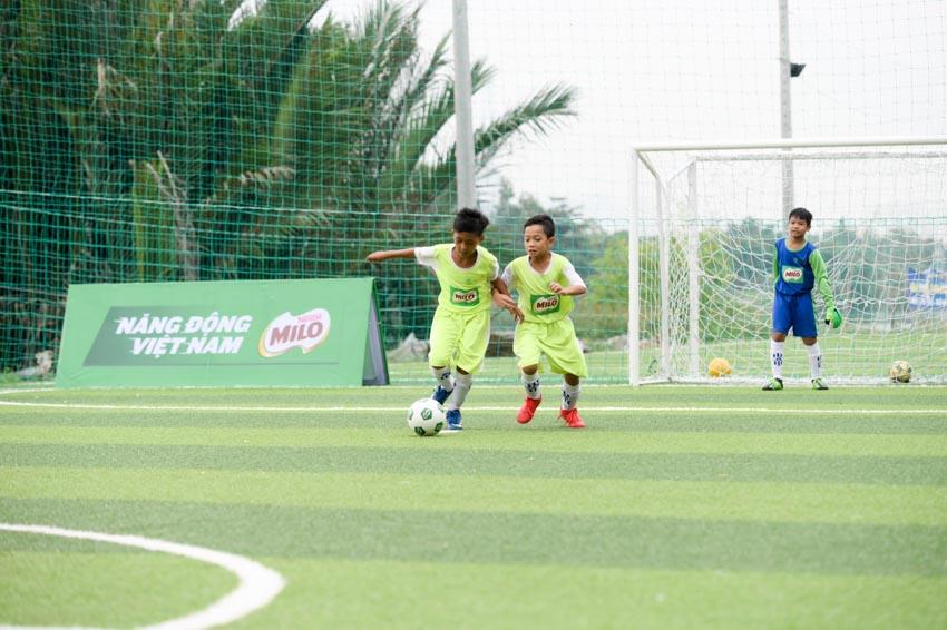 Biệt đội vô địch nhí Việt Nam tham gia cúp Milo vô địch thế giới - 3