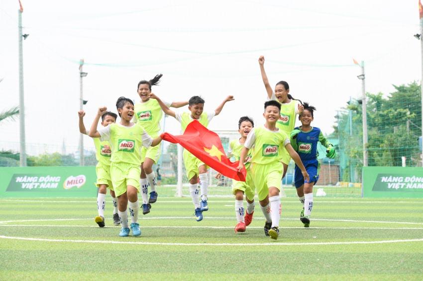 Biệt đội vô địch nhí Việt Nam tham gia cúp Milo vô địch thế giới - 5