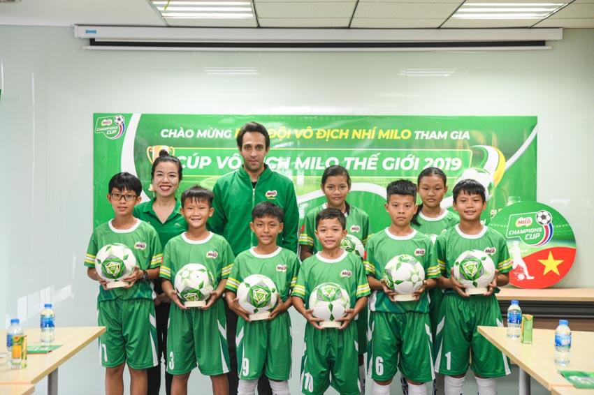 Biệt đội vô địch nhí Việt Nam tham gia cúp Milo vô địch thế giới - 6