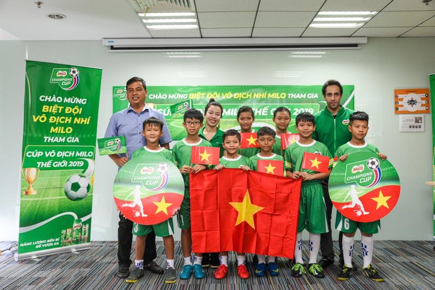 Biệt đội vô địch nhí Việt Nam tham gia cúp Milo vô địch thế giới - 7