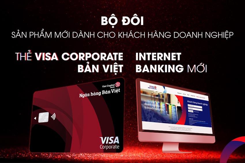 thẻ tín dụng Visa Corporate Bản Việt 1
