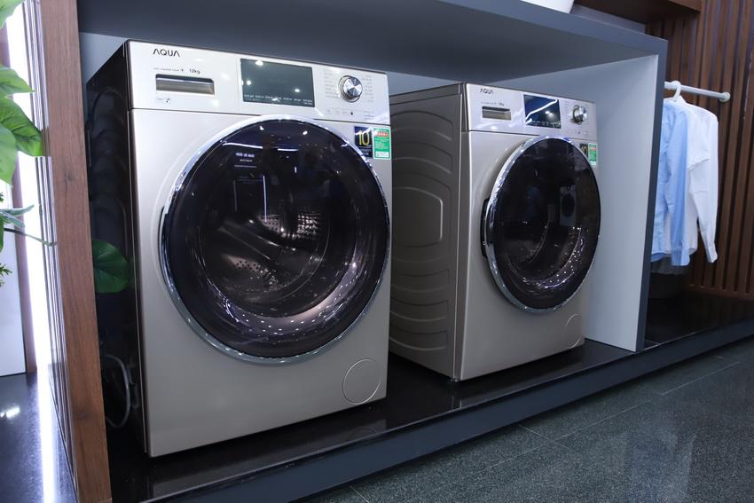 Nhà máy Máy giặt cửa trước của AQUA