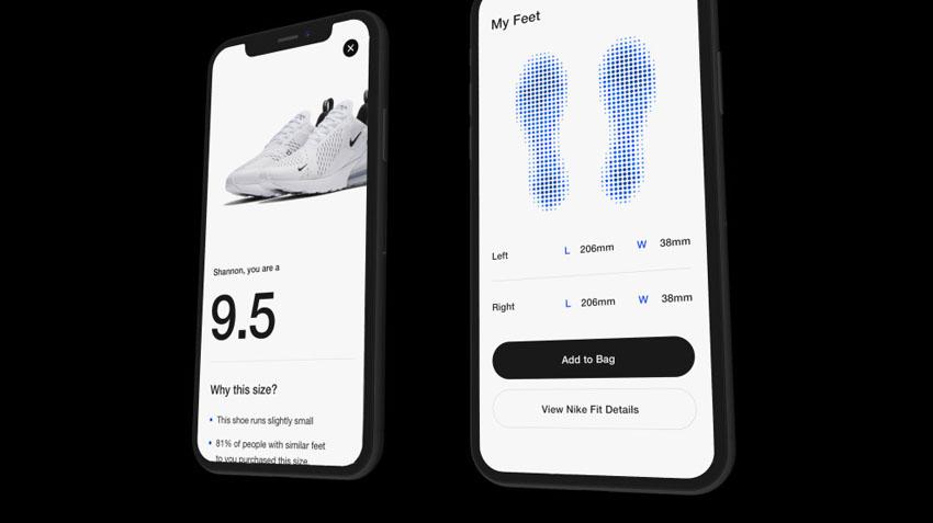 """Nike Fit App dùng AR và AI giúp bạn tìm """"cỡ giày hoàn hảo"""" 4"""
