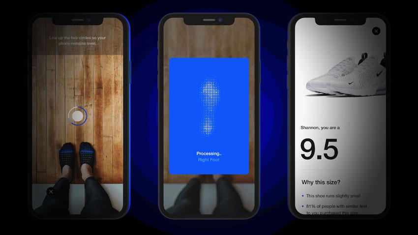 """Nike Fit App dùng AR và AI giúp bạn tìm """"cỡ giày hoàn hảo"""" 3"""