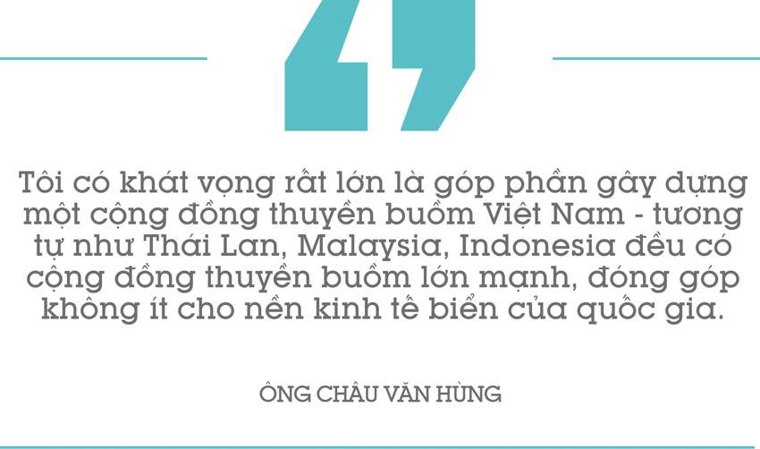 Ông Châu Văn Hùng: Có cộng đồng đủ mạnh, môn thuyền buồm sẽ đóng góp lớn cho du lịch biển 13