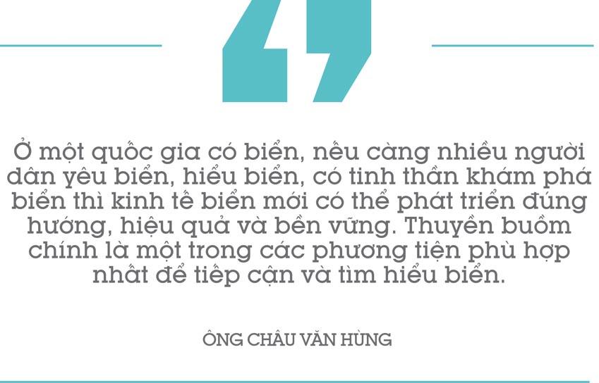 Ông Châu Văn Hùng: Có cộng đồng đủ mạnh, môn thuyền buồm sẽ đóng góp lớn cho du lịch biển 14