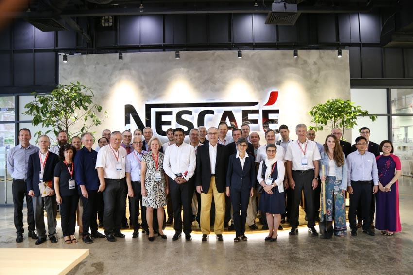 Ông Guy Parmelin thăm nhà máy Nestlé Việt Nam - 4