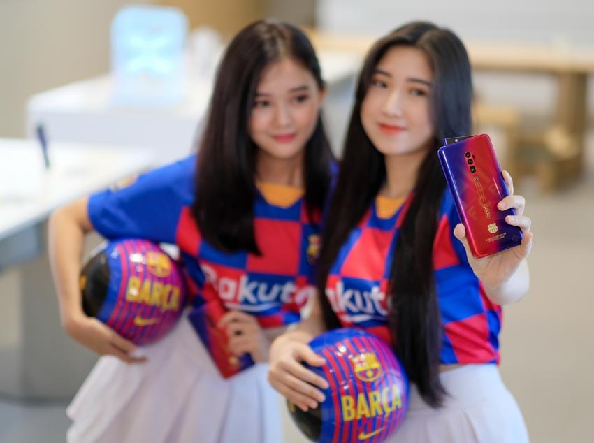 Oppo Reno Zoom 10x phiên bản giới hạn FC Barcelona tại Việt Nam - 2