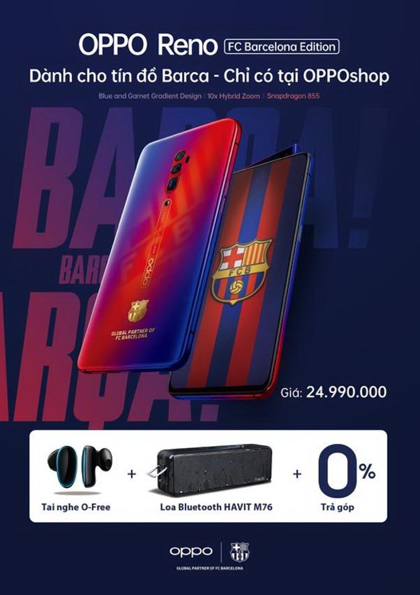 Oppo Reno Zoom 10x phiên bản giới hạn FC Barcelona tại Việt Nam - 7