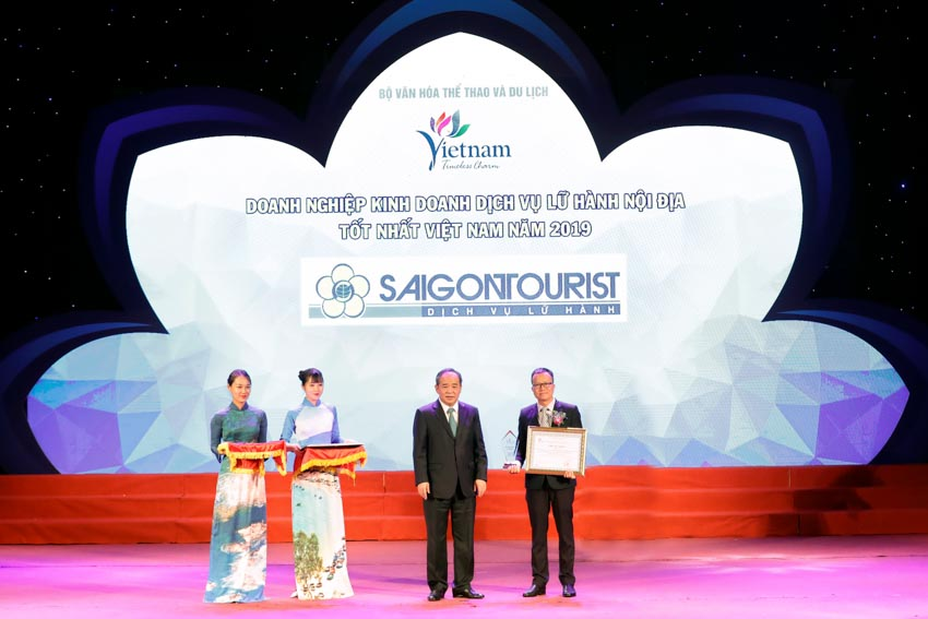 Saigontourist được vinh danh tại Giải thưởng du lịch Việt Nam năm 2019 - 2