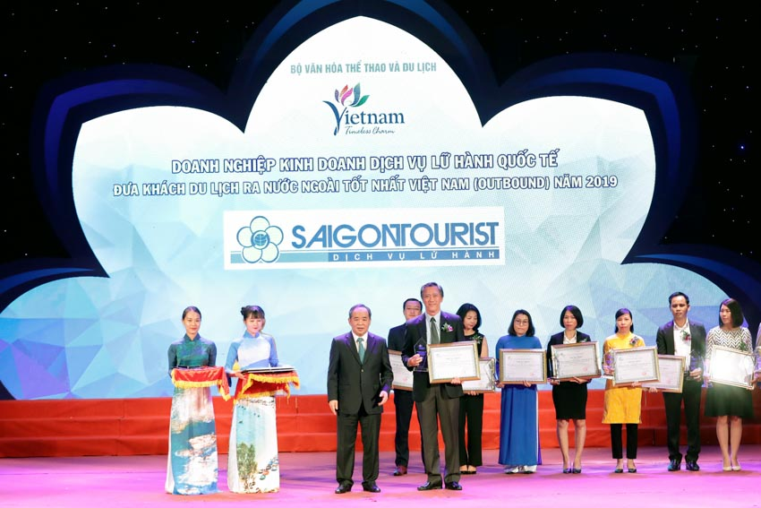 Saigontourist được vinh danh tại Giải thưởng du lịch Việt Nam năm 2019 - 3