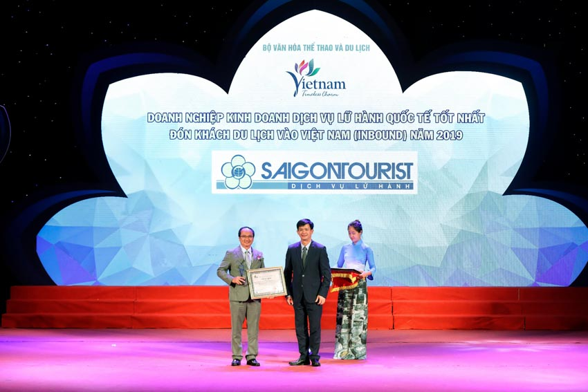 Saigontourist được vinh danh tại Giải thưởng du lịch Việt Nam năm 2019 - 4