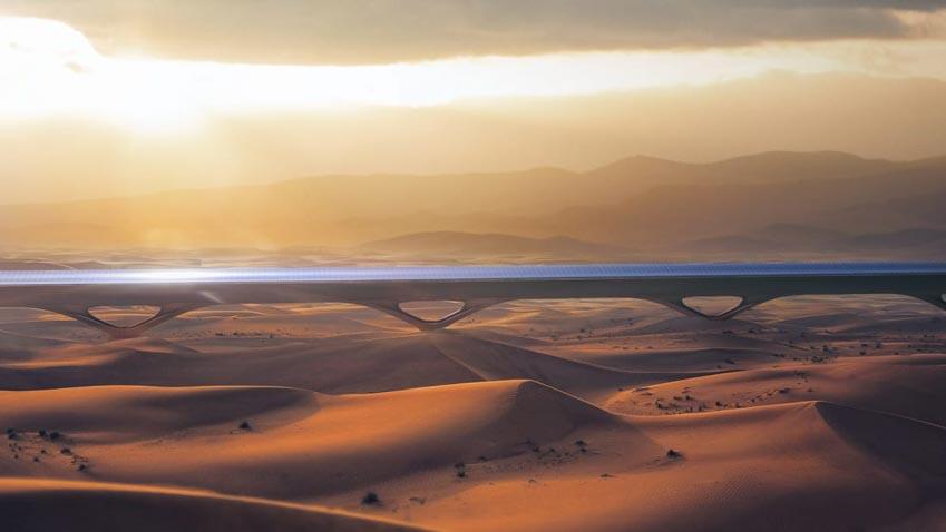 Trải nghiệm đi tàu tàu siêu tốc Hyperloop tốc độ hơn 1.100 km/h - 5