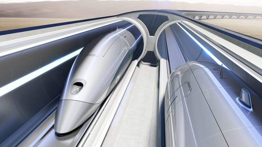 Trải nghiệm đi tàu tàu siêu tốc Hyperloop tốc độ hơn 1.100 km/h - 6